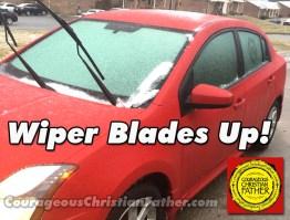 Wiper Blades Up!