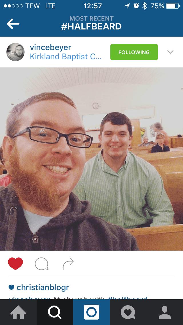 Vince Beyer   Half Beard   Kirkland Baptist Church   Fayetteville, TN