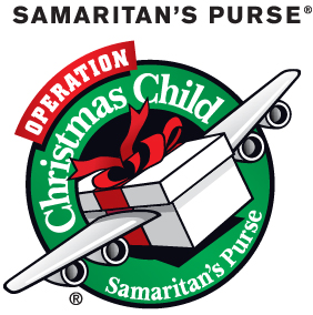 Samaritian's Purse Operation Christmas Child - OCC logo (Back to School)