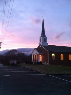 Present Day Piedmont Baptist Church
