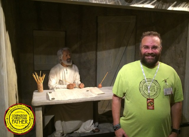 The Apostle Paul and Steve at the Creation Museum