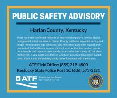 Explosive Rigged Trail Cameras - Public Safety Advisory