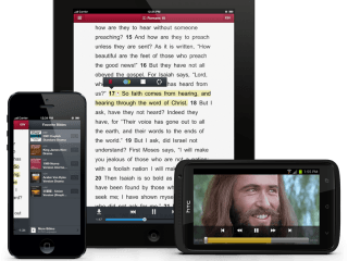 Audio Scriptures - Faith Comes From Hearing image