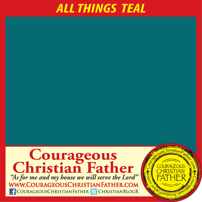 All Things Color Series: All Things Teal. In this post I will talk about the color teal and how it is mentioned in the Bible and what the color means. #Teal