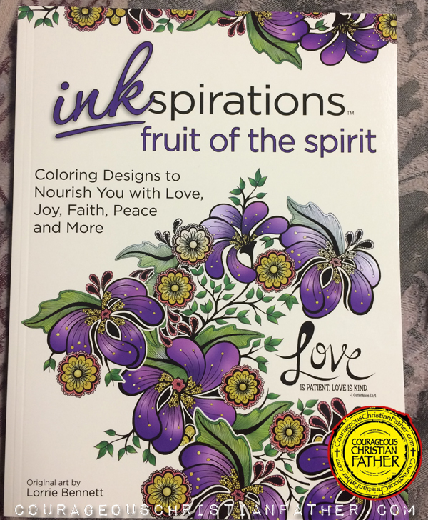 InkSpiration Fruit of the Spirit Adult Coloring Book - Cover