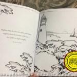 InkSpiration Fruit of the Spirit Adult Coloring Book - Inside Lightouse Scene