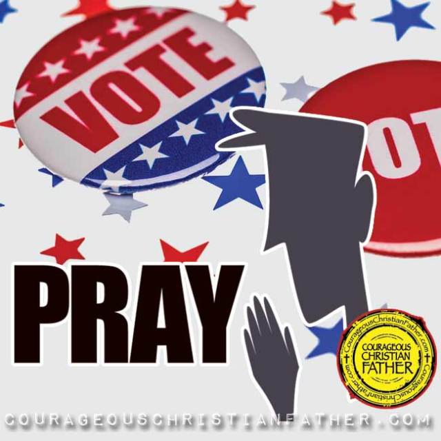Before you vote, you must pray!