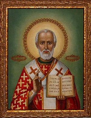 The man behind the beard, St. Nicholas