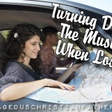 Turning Down the Music When Lost