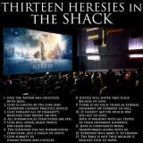 thirteen heresies in the Shack #TheShack