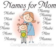 Names for Mom