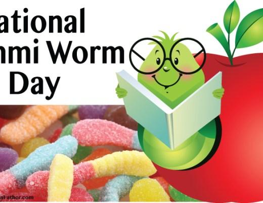 National Gummi Worm Day