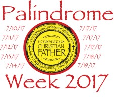 palindrome week 2017