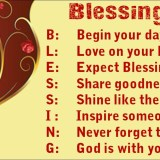 Blessing Acronym