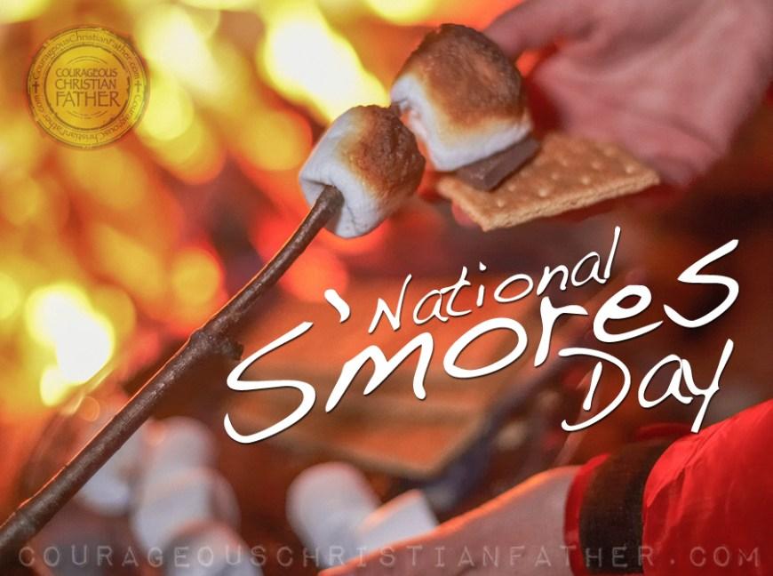 National S'mores Day #NationalSmoresDay #SmoresDay #Smores
