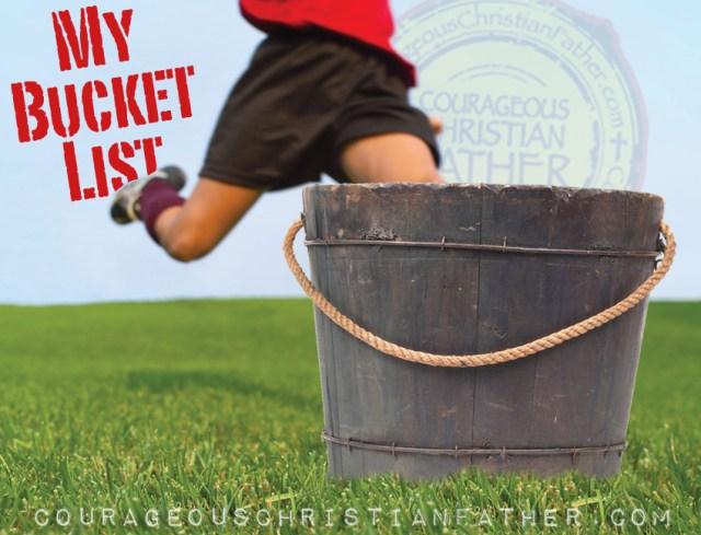 My Bucket List (Kick the Bucket)