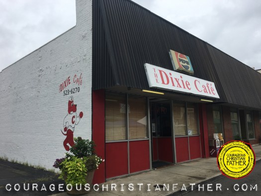 The Dixie Cafe in Downtown Corbin, KY (Outside Building) #DixieCafe #Corbin
