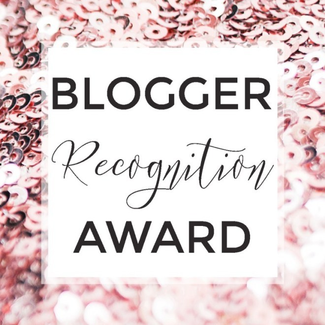 Blogger Recognition Award from Nikki Theorem