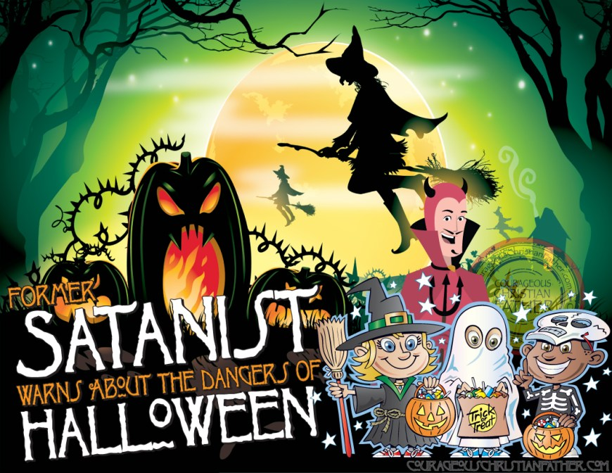Former Satanist Warns About the Dangers of Halloween