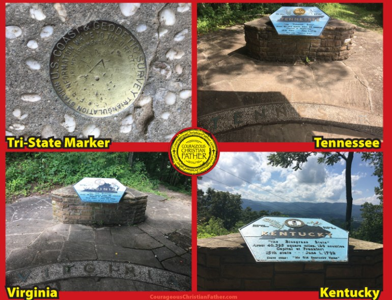 Tri-State Marker Tennessee Kentucky Virginia