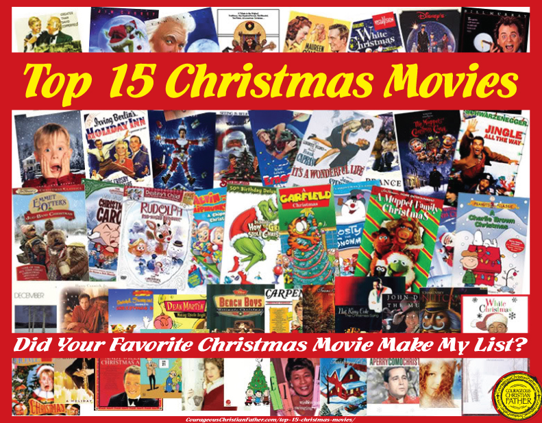 Top 15 Christmas Movies.Did your favorite Christmas movie make my list?