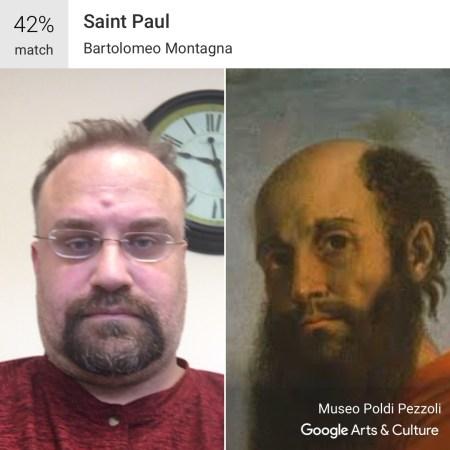 Saint Paul - Google Art and Culture App #MuseumDoppelganger #Doppelganger
