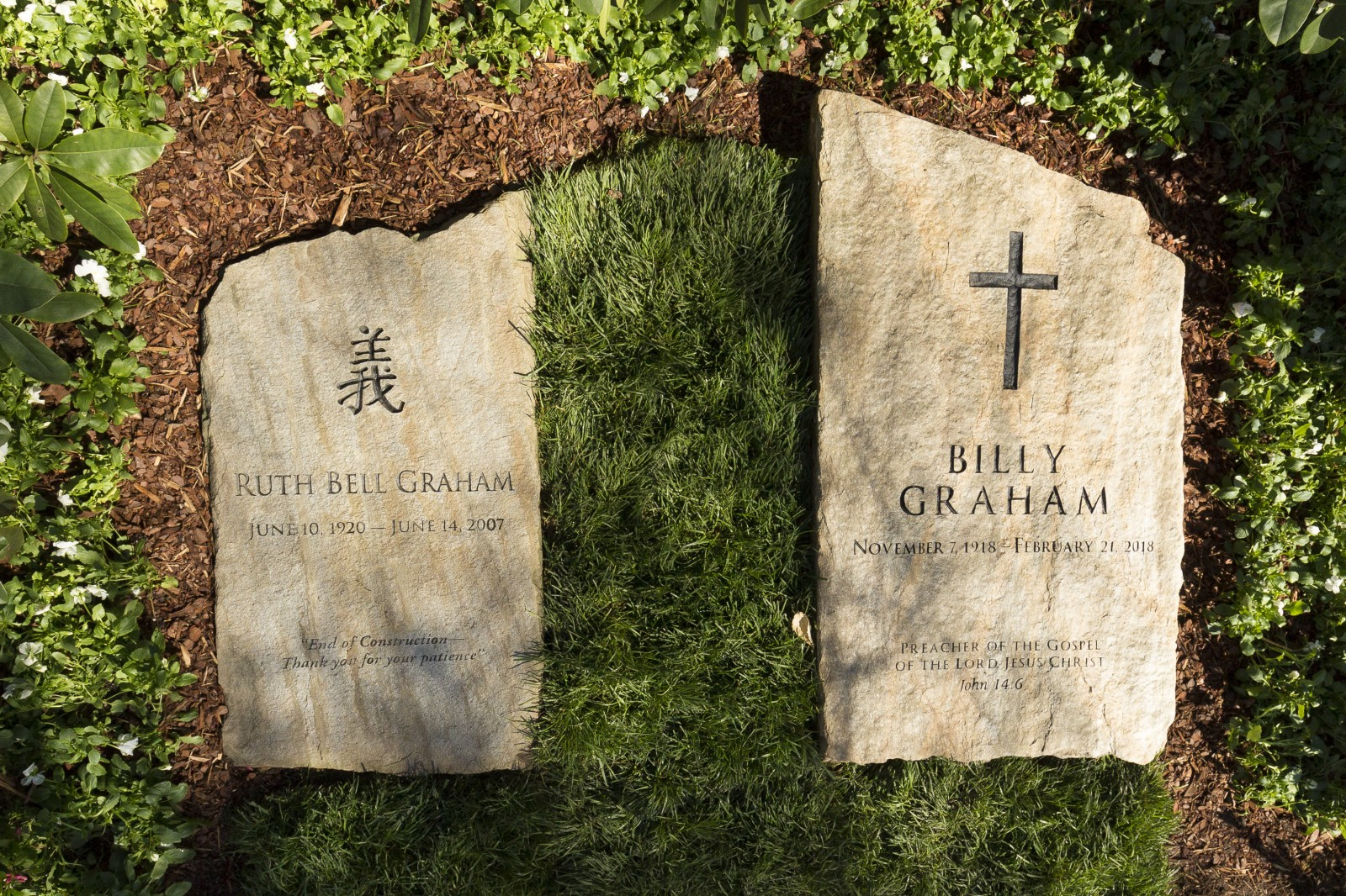 Billy Graham's Grave