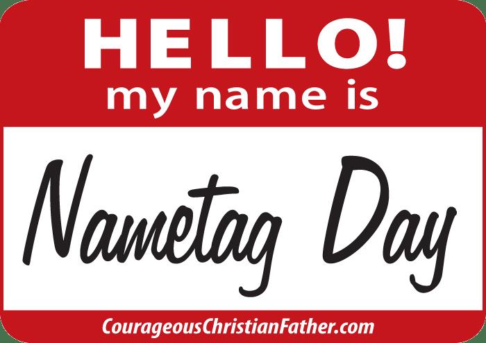 Nametag Day