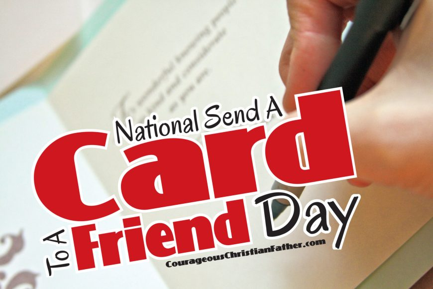 National Send A Card To A Friend Day