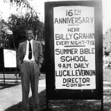 While attending college at Florida Bible Institute (now Trinity College of Florida) in the late 1930s, Billy Graham preaches at local churches. #BillyGraham