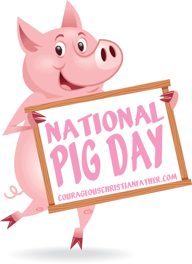 National Pig Day #NationalPigDay