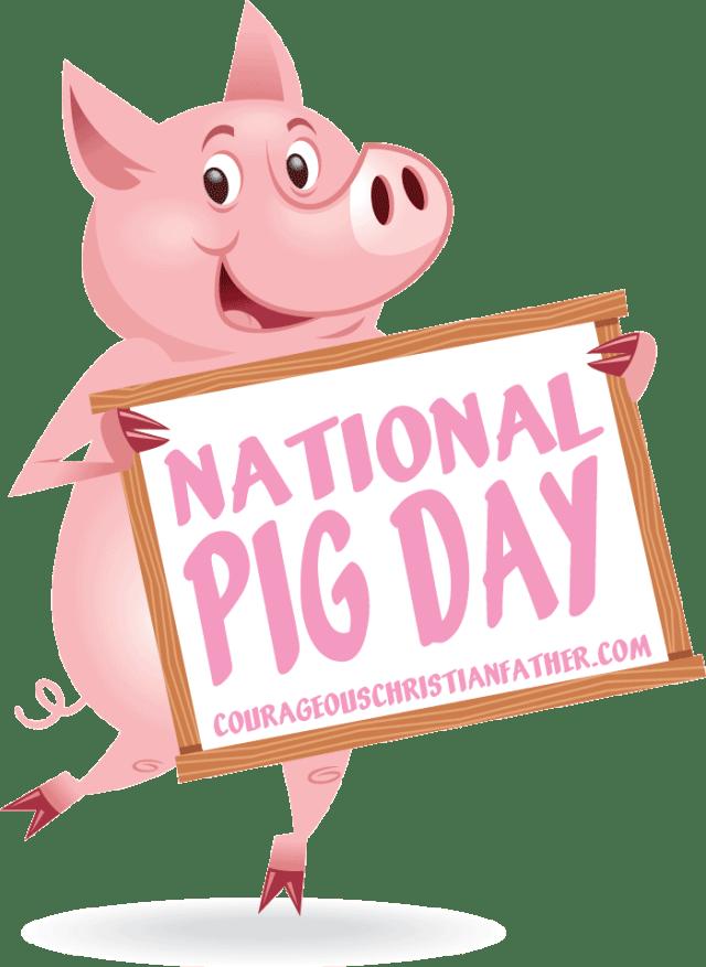 National Pig Day #NationalPigDay