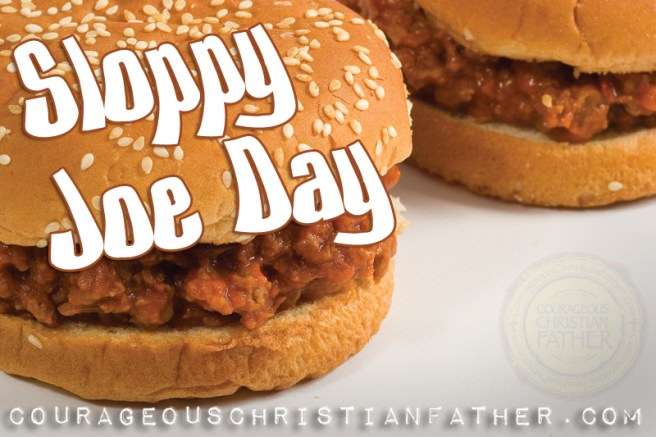 Sloppy Joe Day #SloppyJoeDay
