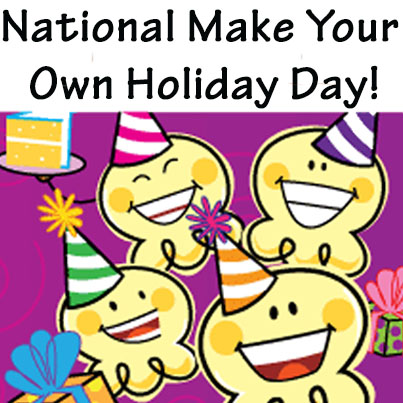 National Make Up Your Own Holiday Day image from Popcorn Factory