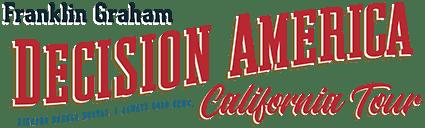 Decision America California Tour Logo