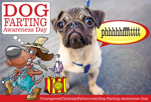 Dog Farting Awareness Day #DogFartingAwearenessDay