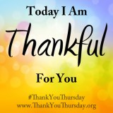 Thank You Thursday #ThankYouThursday