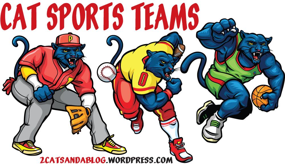 Cat Sport Teams (Feline Sport Teams)