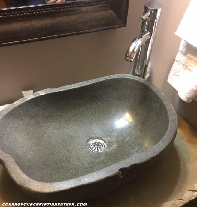 Brookside Resort Bathroom Sink