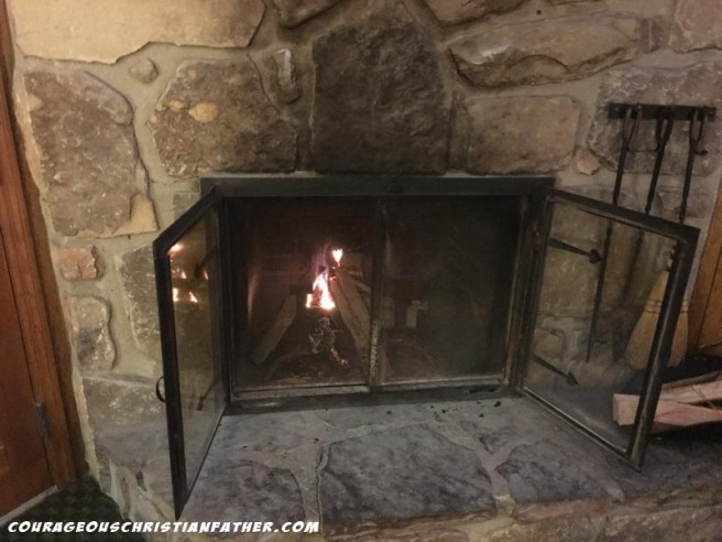 Brookside Resort Fireplace