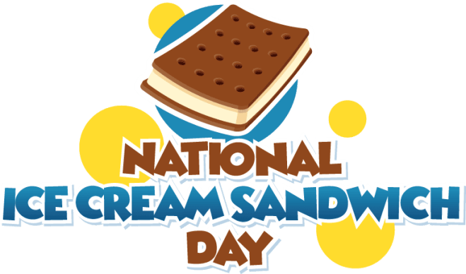 National Ice Cream Sandwich Day
