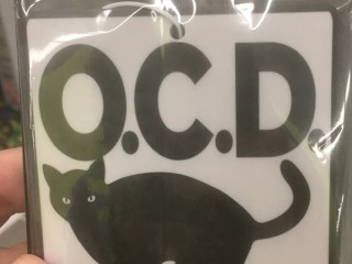 OCD A Cat Acronym - This is a cat acronym for the OCD. (Cat themed acronym that is) Obsessive Cat Disorder