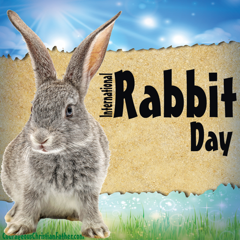 International Rabbit Day - A holiday day for the rabbit. This day is made to help bring protection to rabbits domestic and wild. #InternationalRabbitDay #RabbitDay