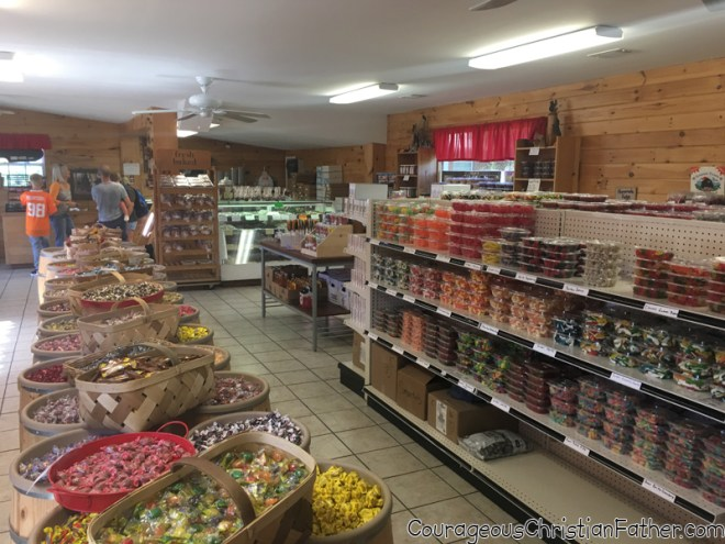 Stacey's Candy Store Inside