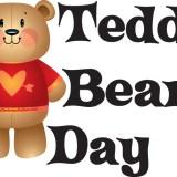 Teddy Bear Day - a day to celebrate that cuddle stuffed bear. #TeddyBearDay