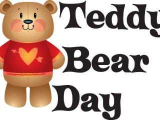 Teddy Bear Day - a day to celebrate that cuddle stuffed bear. #TeddyBearDay