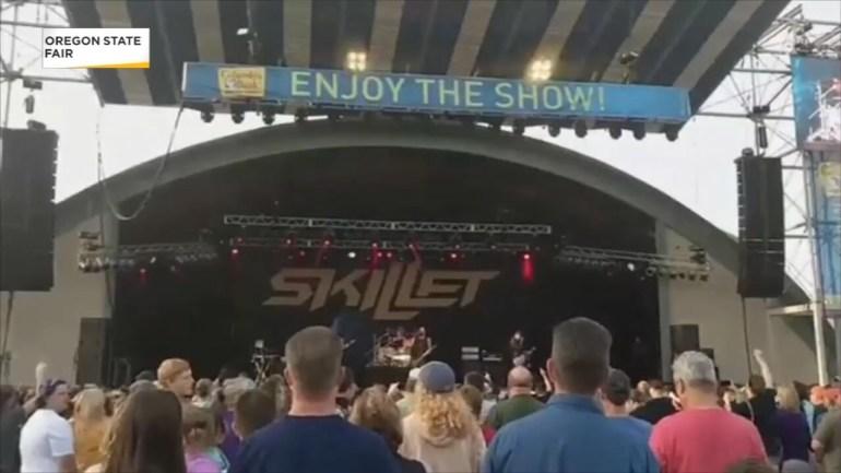 Skillet, a Christian Rock band had their equipment stolen at the Oregon State Fair. Photo courtesy Oregon State Fair