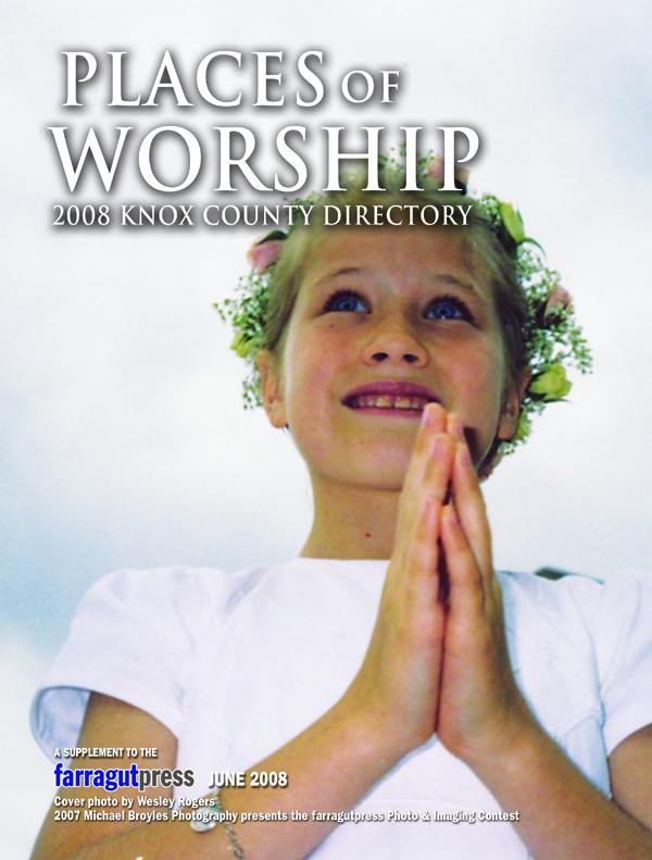 Places of Worship Cover 2008 (farragutpress)