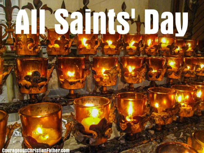 All Saints' Day - festival that honors saints, and also celebrates the victory of Christ over death. #AllSaintsDay