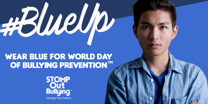 Blue Shirt Day also known as World Day of Bullying Prevention. #BlueShirtDay #BlueUp #Bullying